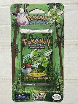 1999 Pokémon TCG Jungle Blister Booster Scyther Artwork Sealed New HTF RARE