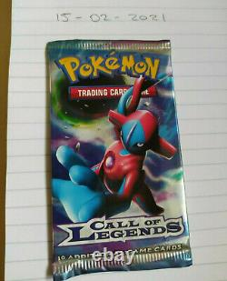 1x New & Sealed Pokemon Call Of Legends Booster Pack (Deoxys Art)