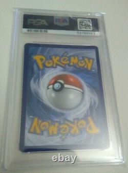 2020 Pokemon Vivid Voltage Rainbow Secret Rare Nessa Full Art PSA 9 Mint 196/185