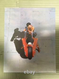 Akira Art Poster Set Of 4 Collectible Sf Manga Comic Anime Japan New Very Rare