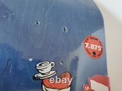 Almost Dr. Seuss Cat Ball One Fish Rodney Mullen Skateboard Deck 7.87 R7 Rare