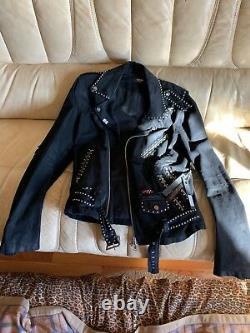 Amiri Art Patch Denim Jacket (Rare) Brand New With Tags Size M