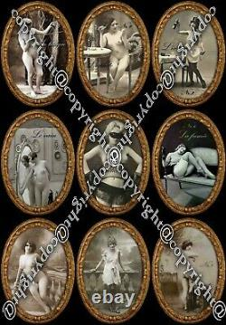 Antique tarot card cards deck rare erotic art vintage brothel cartomancy oracle