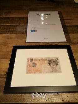 BANKSY DI-FACED TENNER (10 GBP NOTE) 2004 Steve Lazarides Certificate RARE