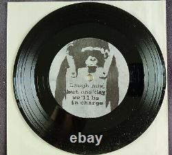 BANKSY Record Art, Ultra RARE 2007 LIMITED (510 copies) SL-27 7 Album SL-27