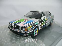 BMW ART CAR 525i E34 ESTHER MAHLANGU 118 MINICHAMPS DEALER ULRA RARE brand new