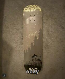 Bam Margera Rare Skateboard Deck Element Future is Nature Twilight Series