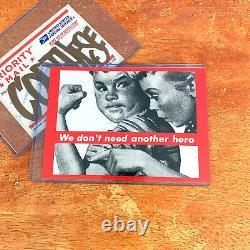 Barbara Kruger Art Postcards Print Rare 80s Vintage Supreme Unposted Set of 8