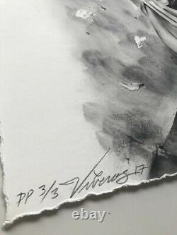 Brian Viveros Battlefield RARE Sold Out Print Poster ie Audrey Kawasaki