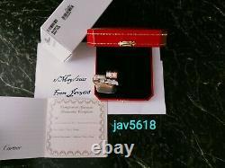 Cartier Lighter Trinity Decor New Gold, 3 Rings, Ultra Rare Bnib, Art, Mint