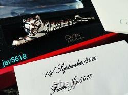 Cartier Tiger F. Pen Prestige Exceptional Art L. E 100, Relic Ultra Rare New