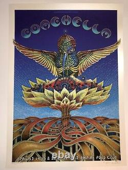 Coachella EMEK Poster Art Print Limited Edition Rare Artist Proof Only 15 Made