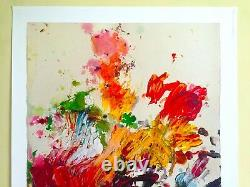 Cy Twombly Rare Abstract Expressionist Print Moderna Museet Exhibition Poster