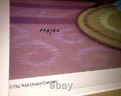 Disney Peter Pan Cel Peter's Seamstress Rare Pubishlers Proof Animation Art Cell