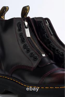 Dr. Martens Sinclair Quad Retro PLATFORM Boots Cherry Red SZ 6, 7 RARE FIND