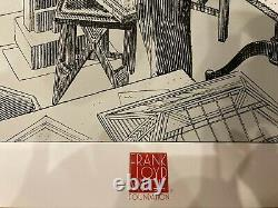Frank Lloyd Wright Poster Francois Schuiten FLW Rare and Mint Limited Edition