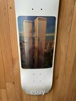 FuckingAwesome Jason Dill twin towers holographic deck New with plastic/Rare