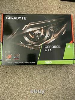 GIGABYTE GeForce GTX 1660 OC 6G Graphics Card Brand New