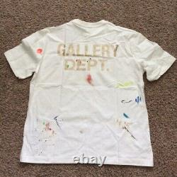 Gallery Dept Shirt Lanvin Painted Short Sleeve Tee Sz M