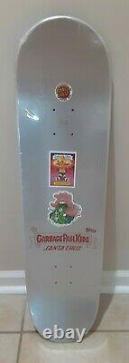 Garbage pail kids santa cruz skateboard deck with bag Crazy rare