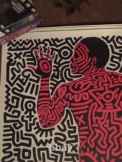 Haring Keith 1984 NY Street Poster rare