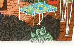 JONAS WOOD RARE Original Flower Pot Still Life Plants Exhibition Poster OOP RARE