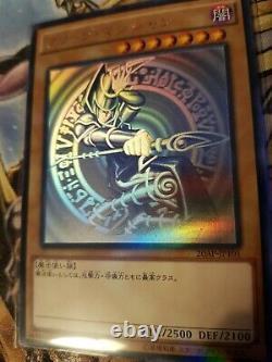 Japanese Yu-gi-oh Dark Magician 20ap-jp101 Ghost Rare Original Ocg Artwork