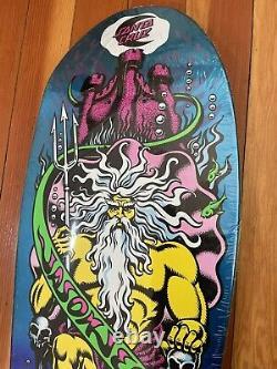 Jason Jessee Santa Cruz Neptune Reissue Skateboard Deck Rare Paint Fade nos