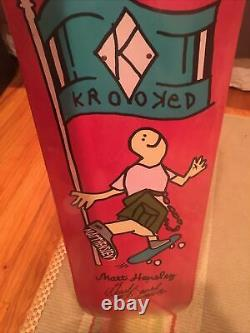 Krooked Skateboards Matt Hensley Guest Board brand new rare art collection