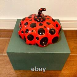 Kusama Yayoi Naoshima limited object red pumpkin rare takashi murakami NEW