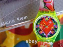 LOVE, PEACE AND HAPPINESS! Colorful Swatch ART WORK By MICHA KLEIN! NIB-RARE