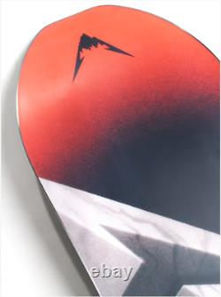 Limited Edition Burton X Metallica Skeleton Key Snowboard 154cm Pushead Art RARE