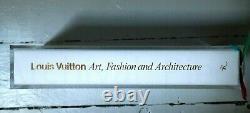 Louis Vuitton Art of Fashion Book (2020) Takashi Murakami Edition New! Rare