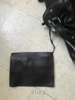 Maison Martin Margiela H&m Rare Black Leather Large Guitar Case Bag Bnwt