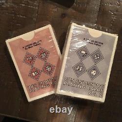 Max Dalton Wes Anderson Film Playing Cards Volume 1 & 2 Set Spoke Art Rare OOP