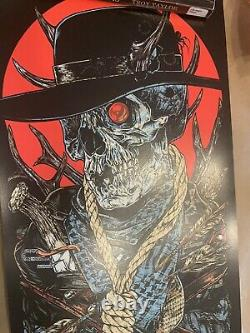 Metallica rhys cooper poster print rare sold out limited wherever I my roam