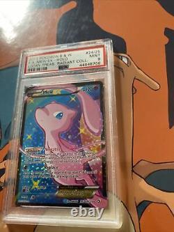Mew EX RC24/RC25 Pokemon Legendary Treasures Full Art Ultra Rare PSA 9 MINT