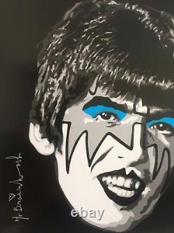 Mr. Brainwash The Beatles As Kiss Rare Authentic Litho Print Pop Art Poster
