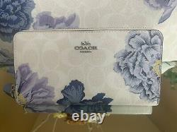 NEW Coach City Tote RARE FIND Signature Canvas Kaffe Fassett Print Wallet Set