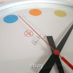 NEW Damien Hirst Spot Clock Large Face 35CM Rare Art Other Criteria Wall Clock