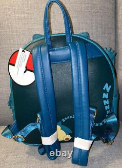 NWT RARE Loungefly X Pokemon Snorlax Mini Backpack