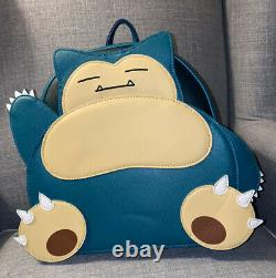 NWT RARE Loungefly X Pokemon Snorlax Mini Backpack (see pics withfactory crease)