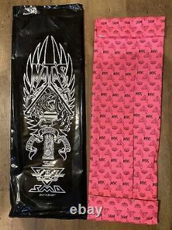 Natas Kaupas Blind Bag Santa Cruz Skateboard Deck RARE Teal Prismatic Foil SMA