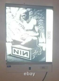 Nine Inch Nails Reznor Charles Degeyter Amsterdam RARE X-RAY TEST Print Poster