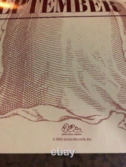 Nirvana In Utero Rare Poster Unreleased Original Art New! Kurt Cobain