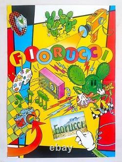 Original Vintage 1981 Rare Fiorucci Arizona New Wave Italian Fashion Poster
