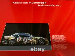 Out Of Print Super Rare Bmw Art Car 1/18 Scale Sandro Chia M3 Gtr 1992