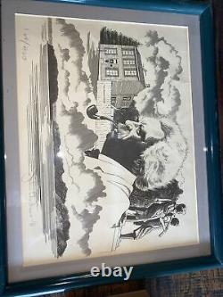 PETERSON MARK TWAIN 1981 LIMITED EDITION 164/400 RARE P-LIP NEW PIPE & Art Print
