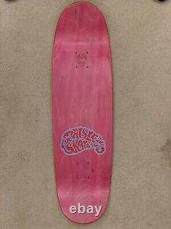 Paisley Skates Serial Party Sean Cliver Deck RARE! Neon version StrangeLove