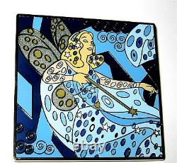 Pinocchio BLUE FAIRY LE JUMBO Disney Pin Art Nouveau EASEL Gustav Klimt RARE New